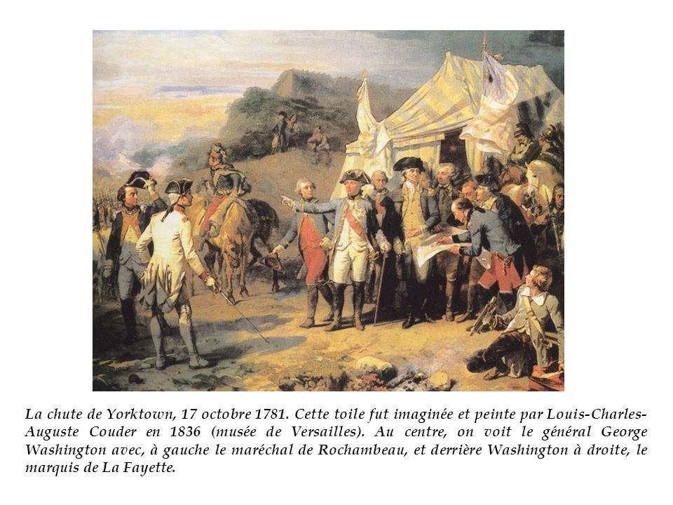 La chute de Yorktown, 17 octobre 1781