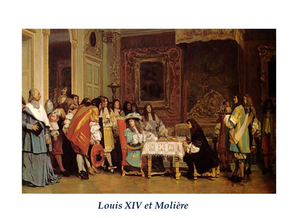 Louis XIV et Molière
