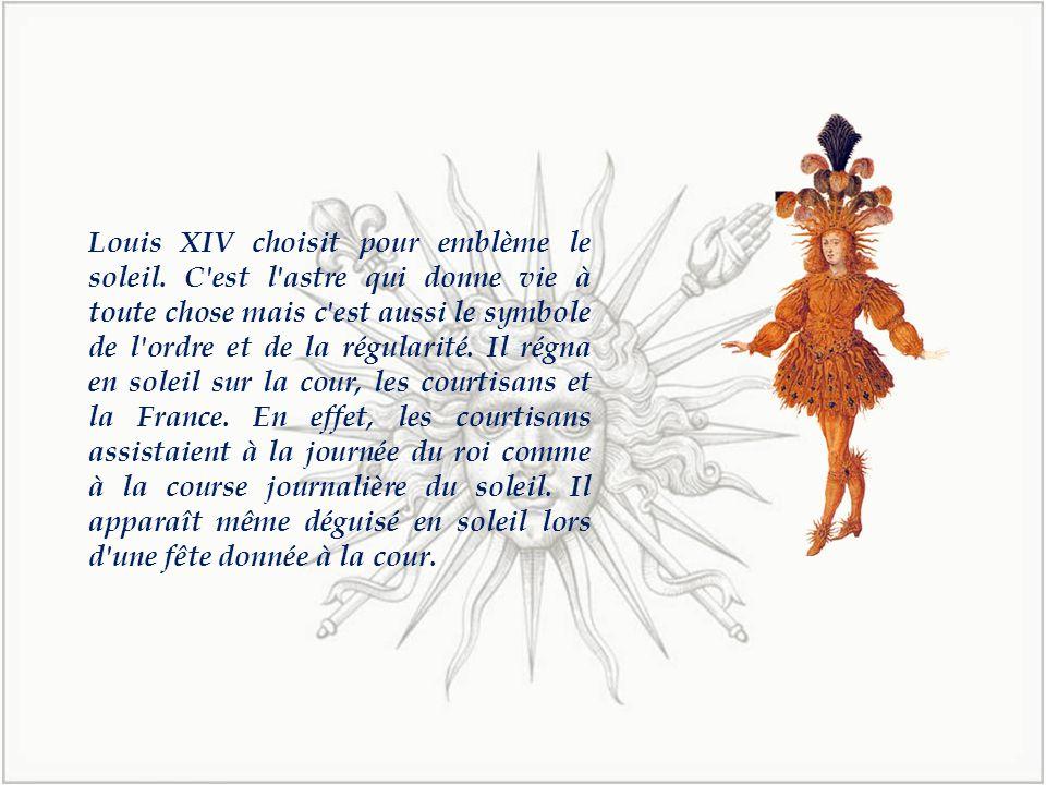 Louis XIV choisit pour emblème le soleil