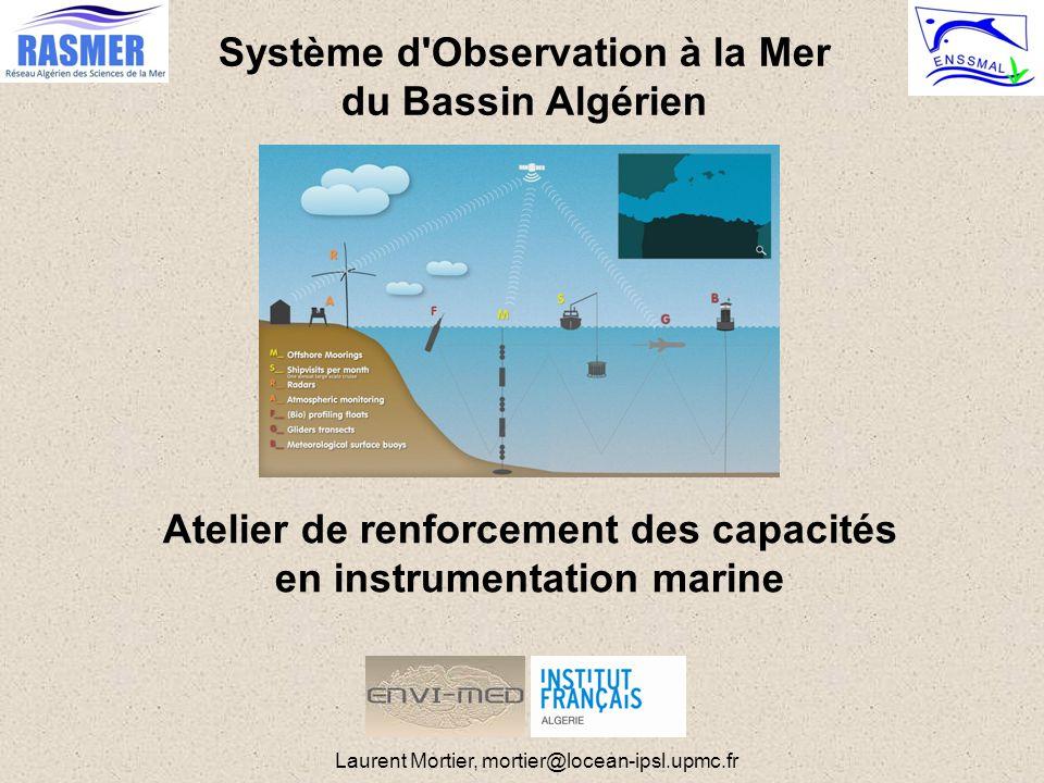 Système d Observation à la Mer du Bassin Algérien