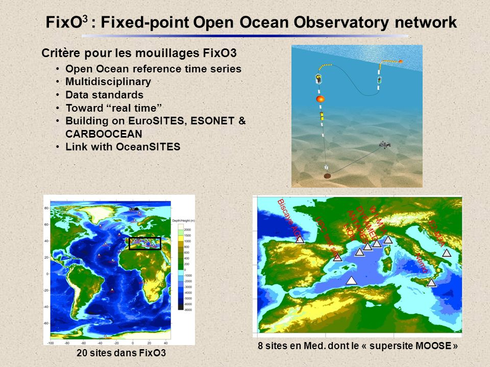FixO3 : Fixed-point Open Ocean Observatory network