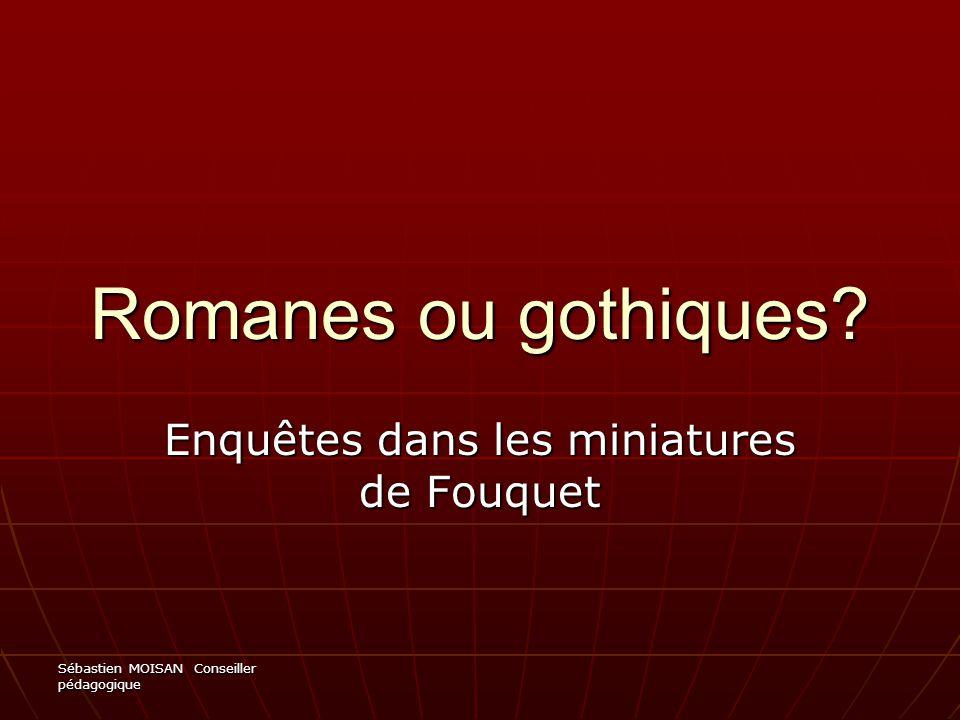 Enquêtes dans les miniatures de Fouquet
