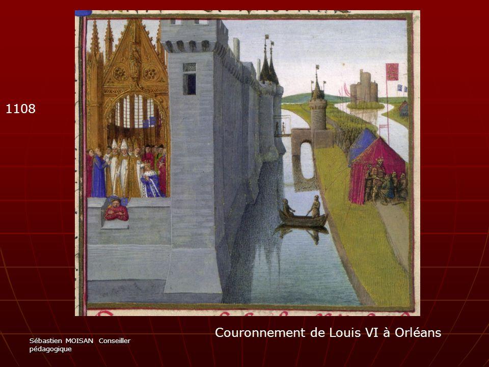 Couronnement de Louis VI à Orléans