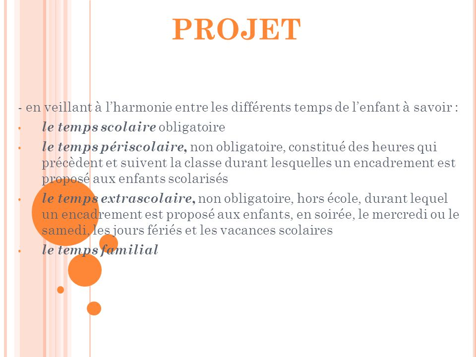 2-La philosophie du projet