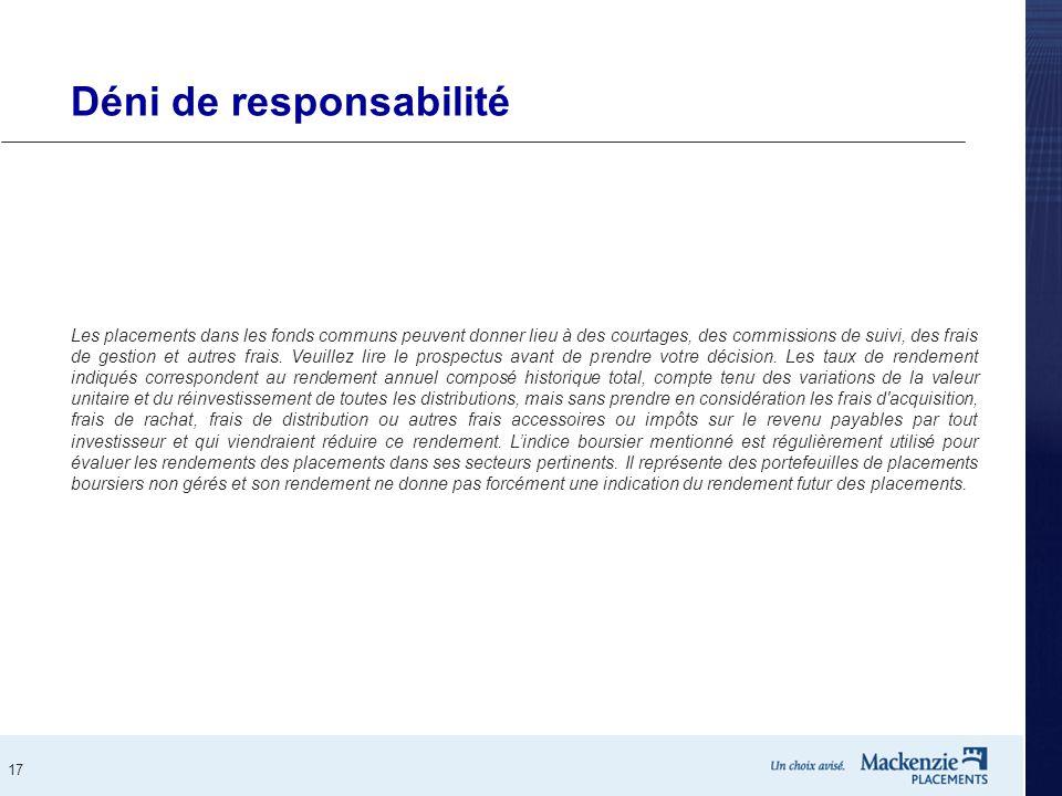 Déni de responsabilité