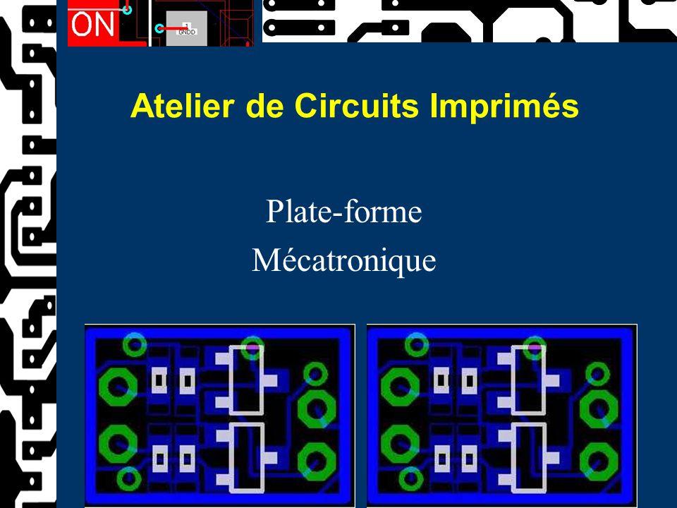 Atelier de Circuits Imprimés