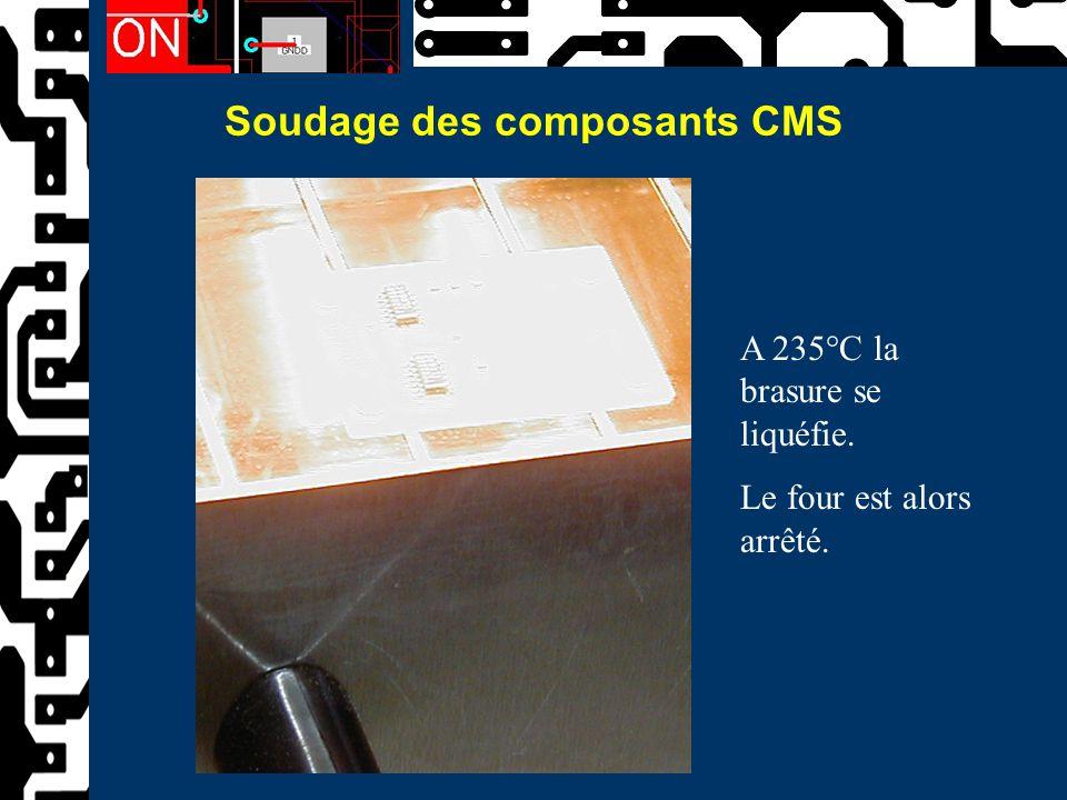 Soudage des composants CMS