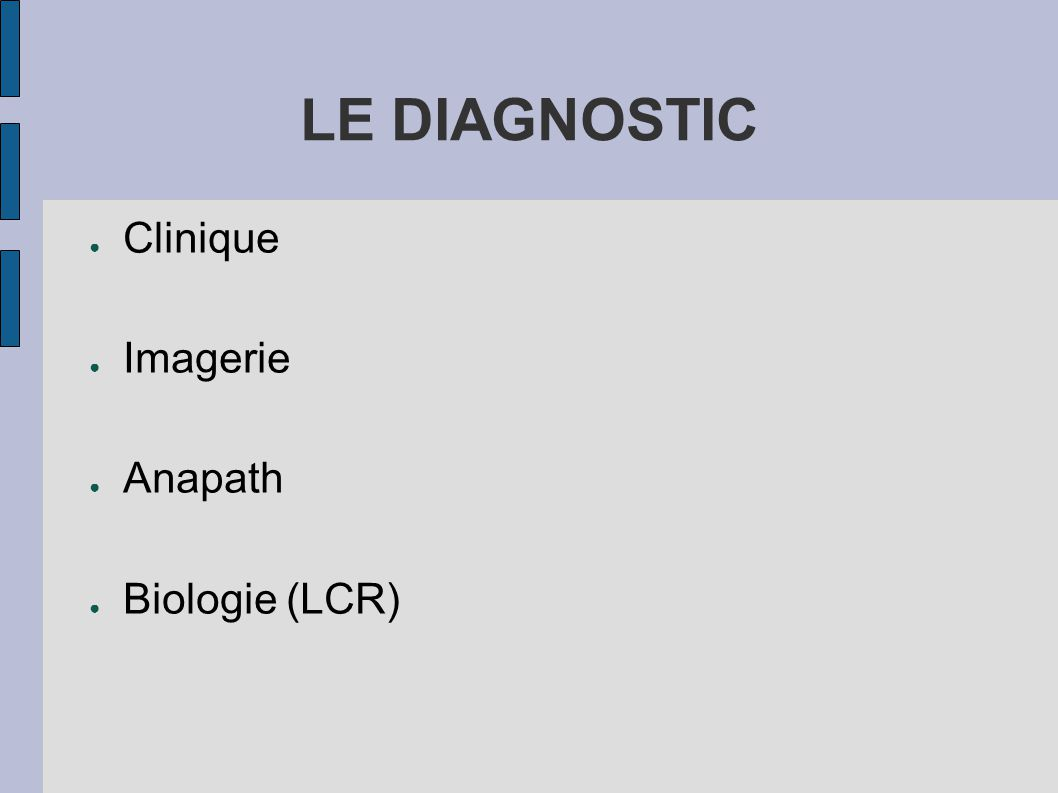 LE DIAGNOSTIC Clinique Imagerie Anapath Biologie (LCR)