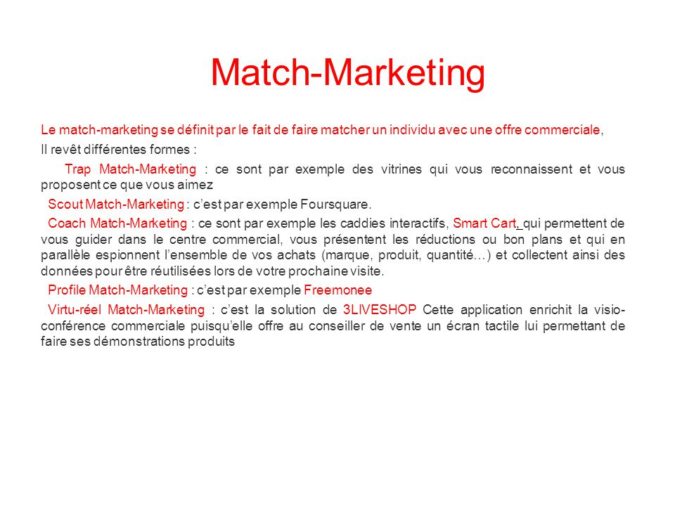 Match-Marketing