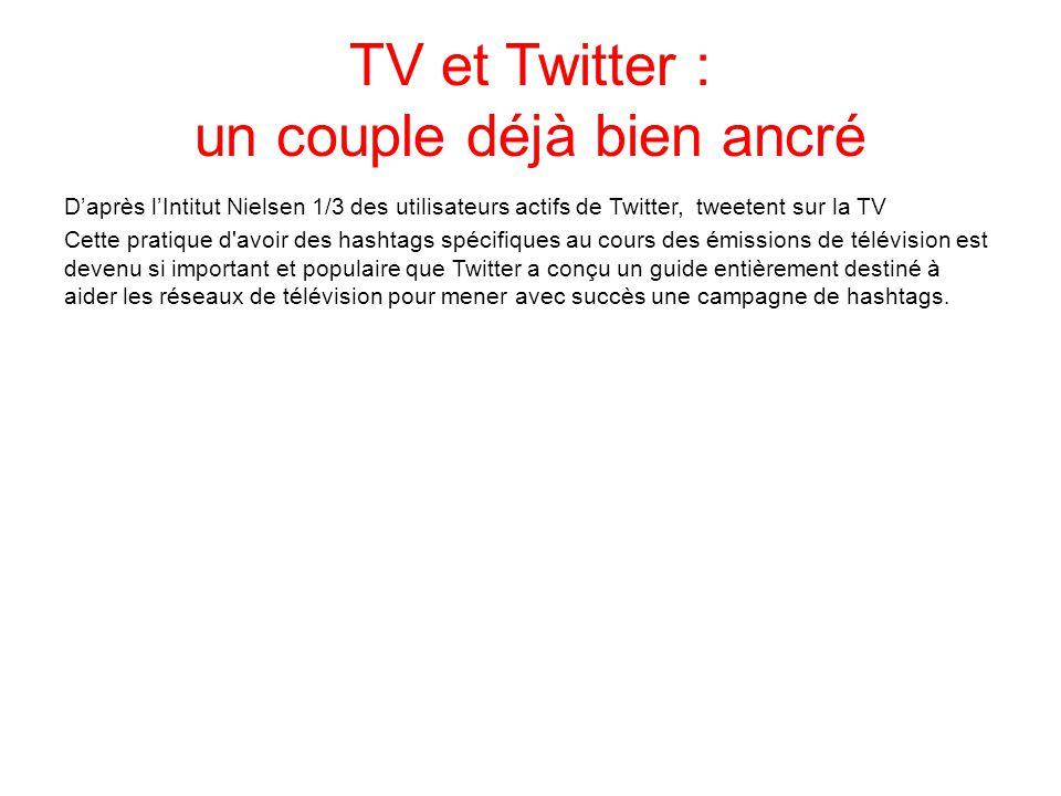 TV et Twitter : un couple déjà bien ancré
