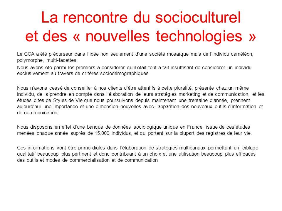 La rencontre du socioculturel et des « nouvelles technologies »