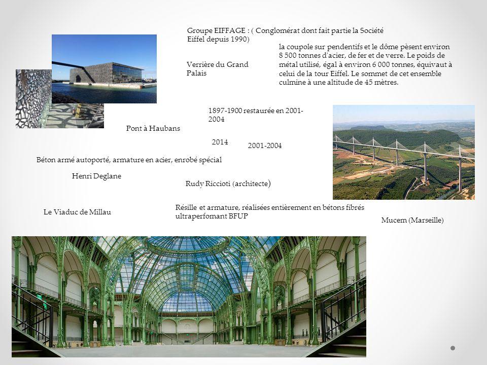 Groupe EIFFAGE : ( Conglomérat dont fait partie la Société Eiffel depuis 1990)