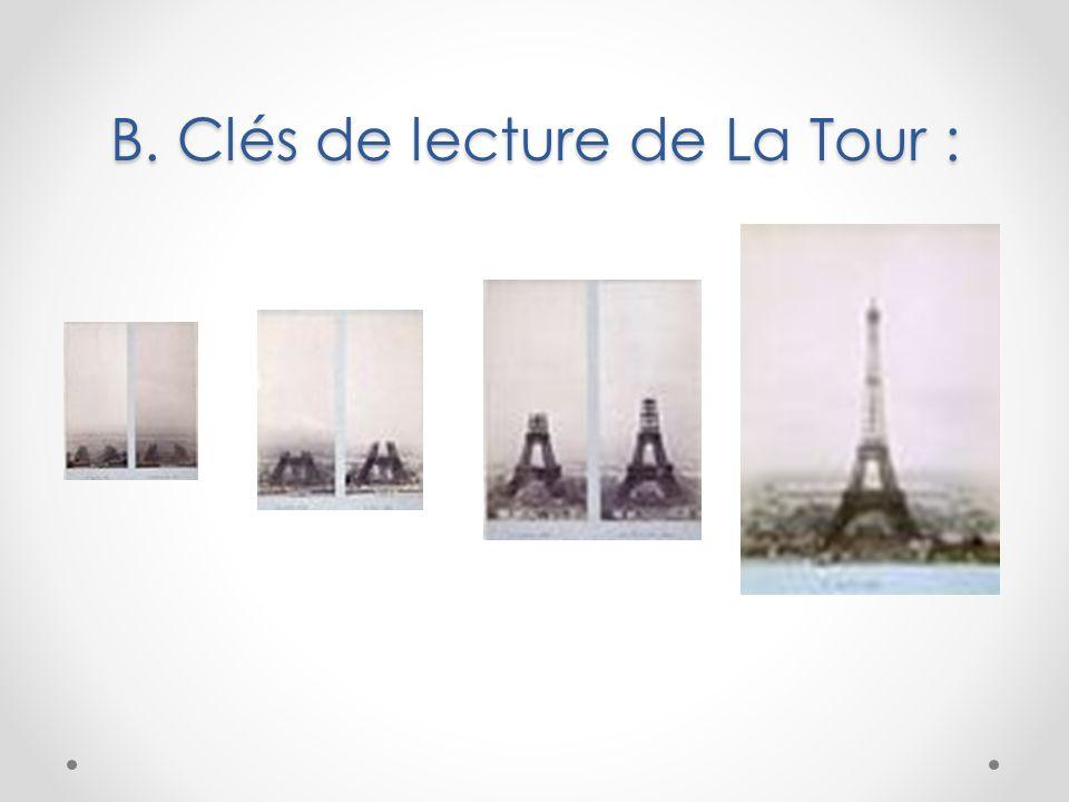 B. Clés de lecture de La Tour :