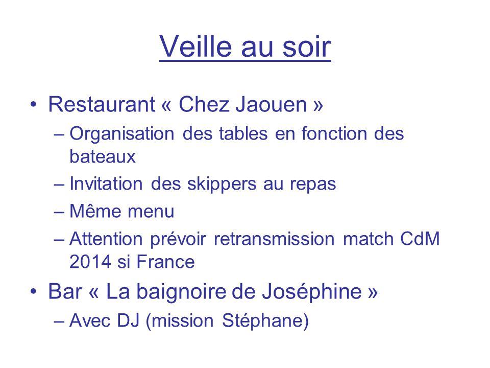 Veille au soir Restaurant « Chez Jaouen »