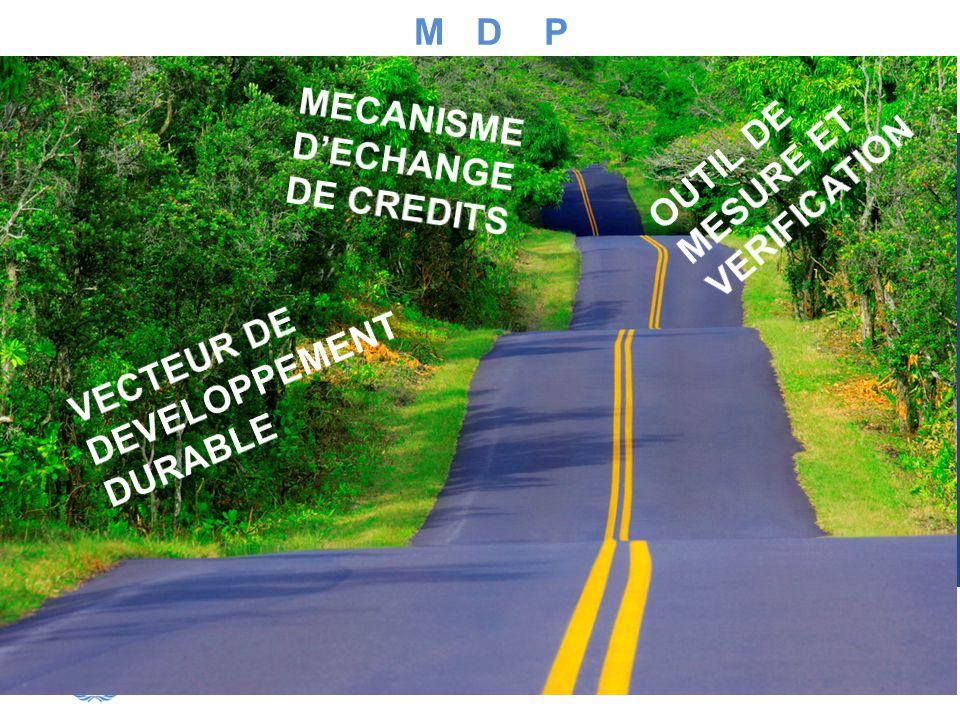 M D P MECANISME D'ECHANGE DE CREDITS. OUTIL DE MESURE ET VERIFICATION.