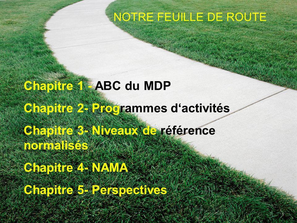 Chapitre 2- Programmes d'activités
