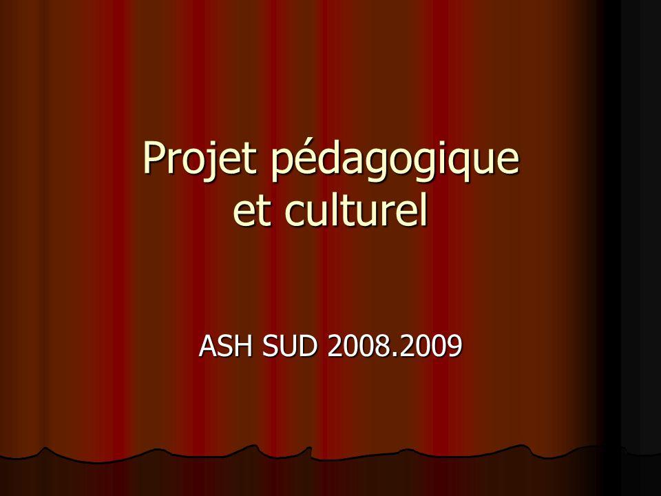 Projet pédagogique et culturel