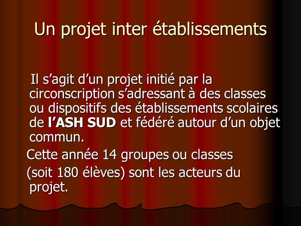 Un projet inter établissements