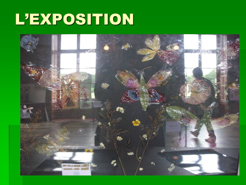 L'EXPOSITION