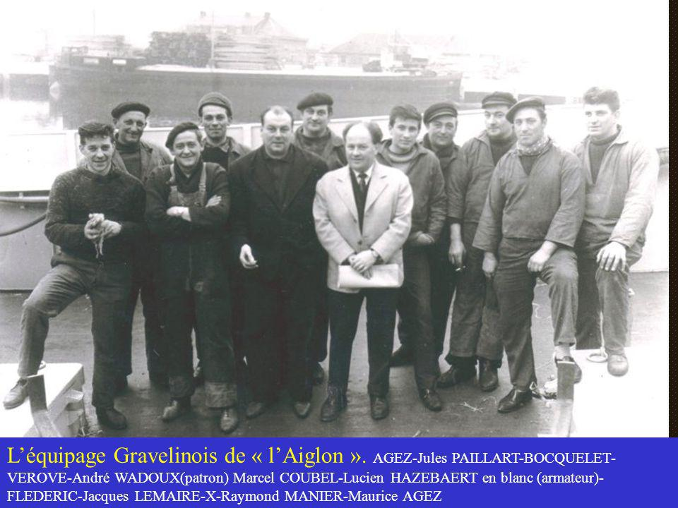 L'équipage Gravelinois de « l'Aiglon »