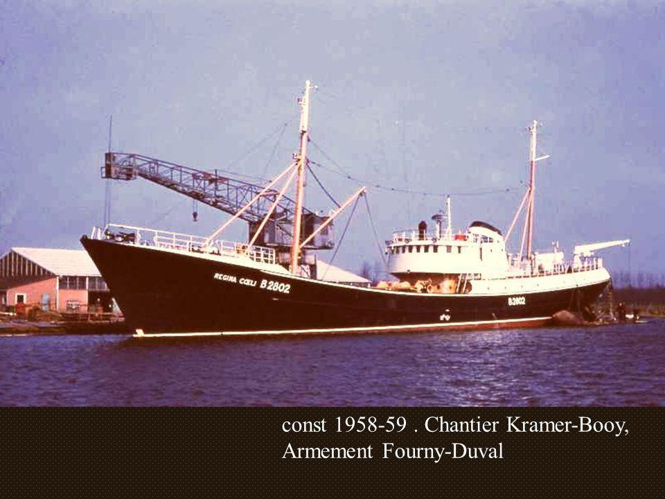 const 1958-59 . Chantier Kramer-Booy,