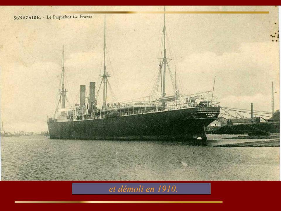 et démoli en 1910.