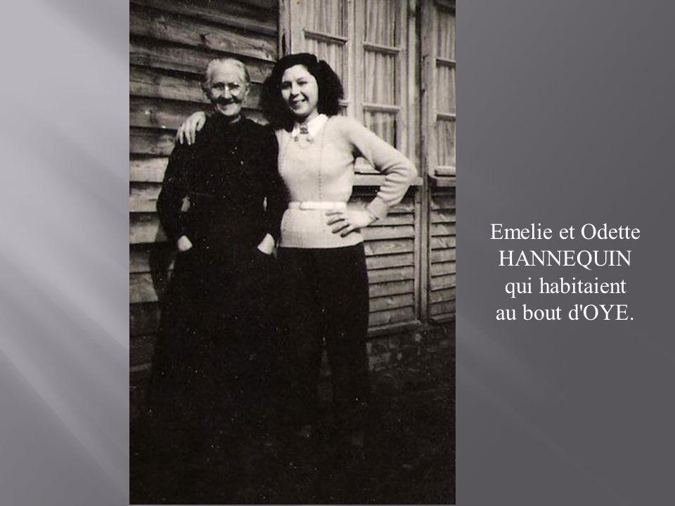 Emelie et Odette HANNEQUIN