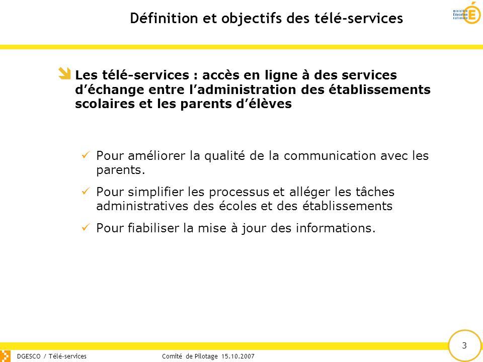 Définition et objectifs des télé-services