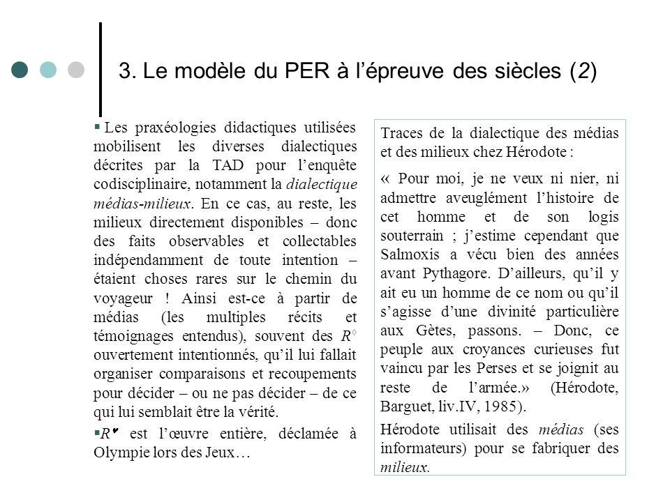 3. Le modèle du PER à l'épreuve des siècles (2)