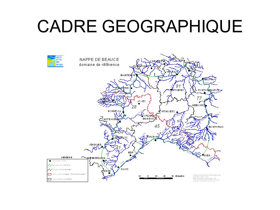 CADRE GEOGRAPHIQUE
