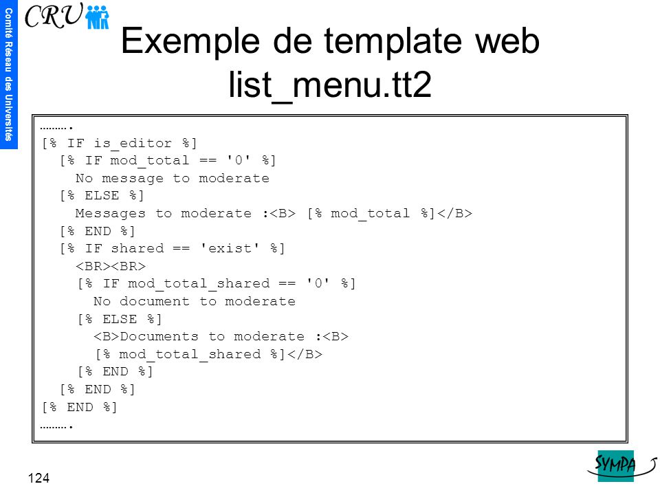 Exemple de template web list_menu.tt2