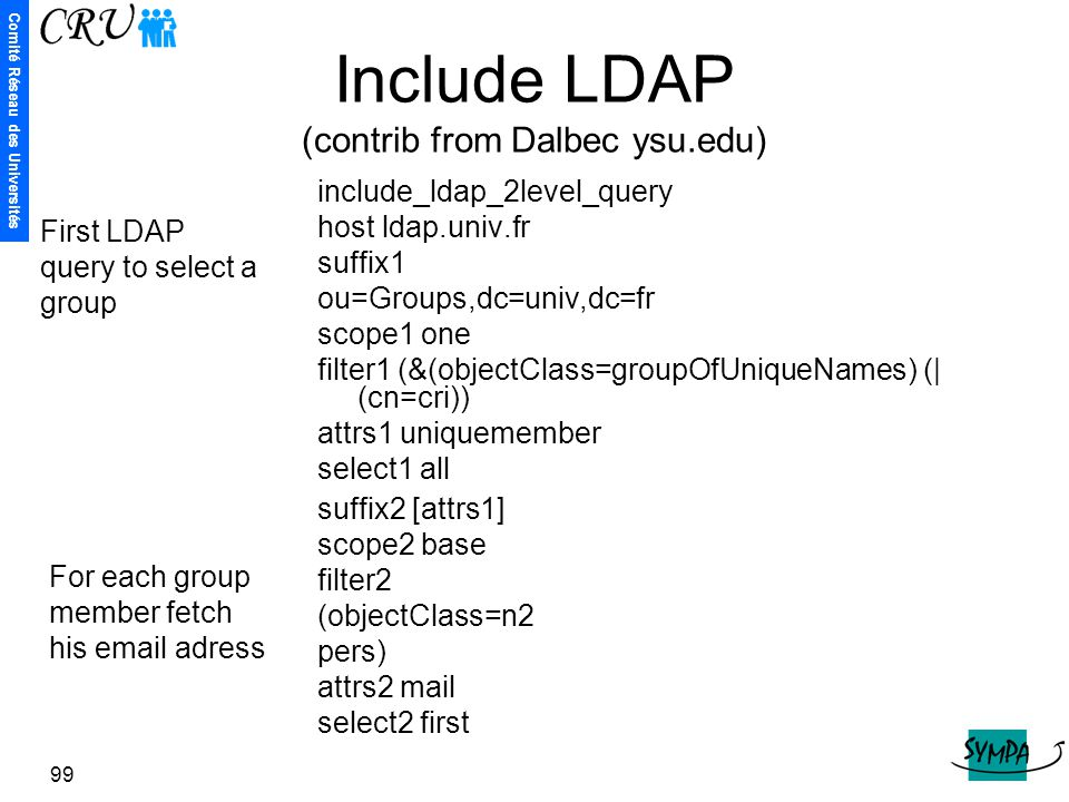 Include LDAP (contrib from Dalbec ysu.edu)