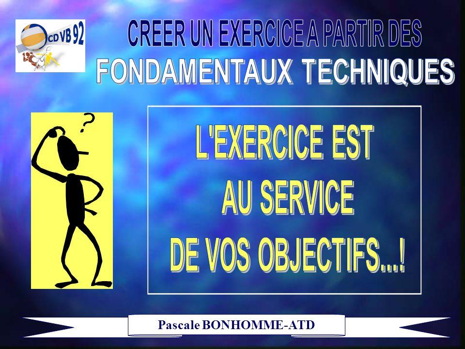 CREER UN EXERCICE A PARTIR DES FONDAMENTAUX TECHNIQUES