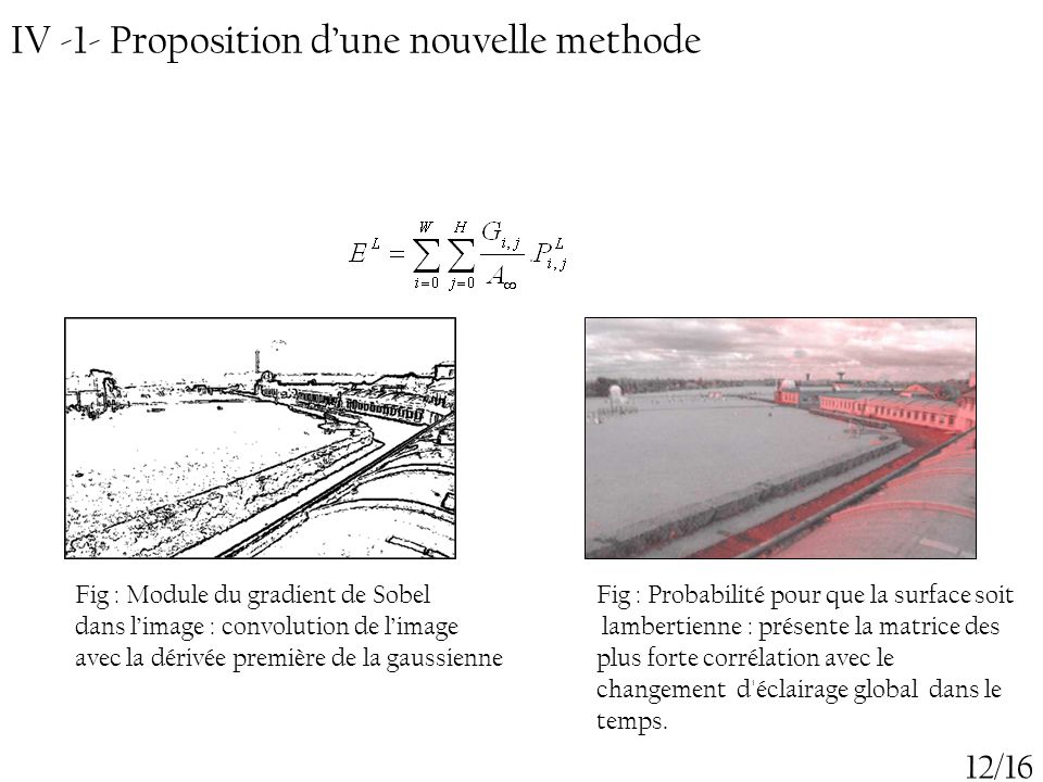 IV -1- Proposition d'une nouvelle methode
