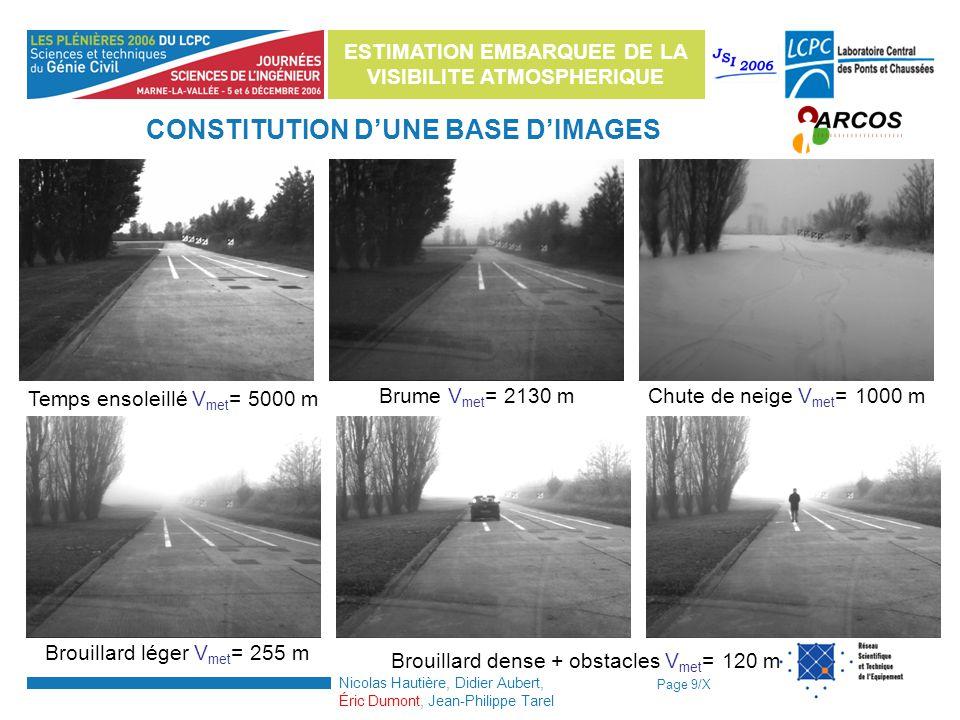 CONSTITUTION D'UNE BASE D'IMAGES