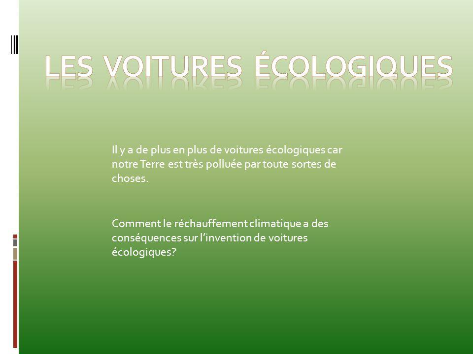 Les voitures écologiques