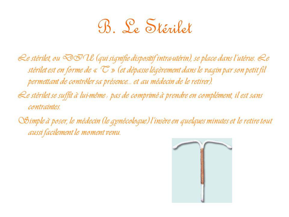 B. Le Stérilet