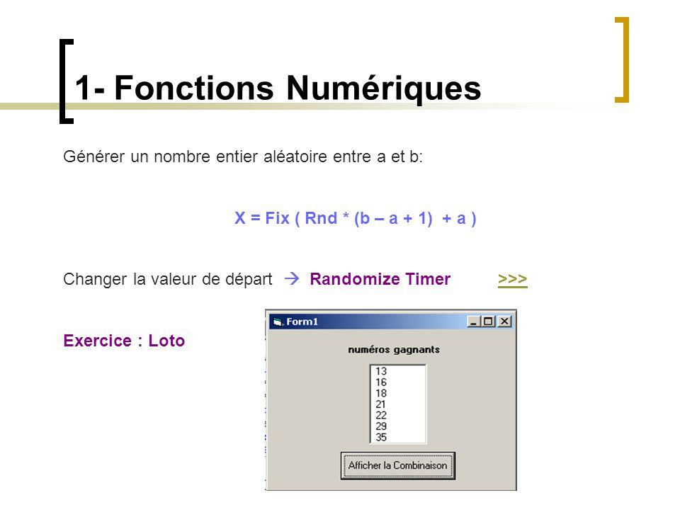 1- Fonctions Numériques