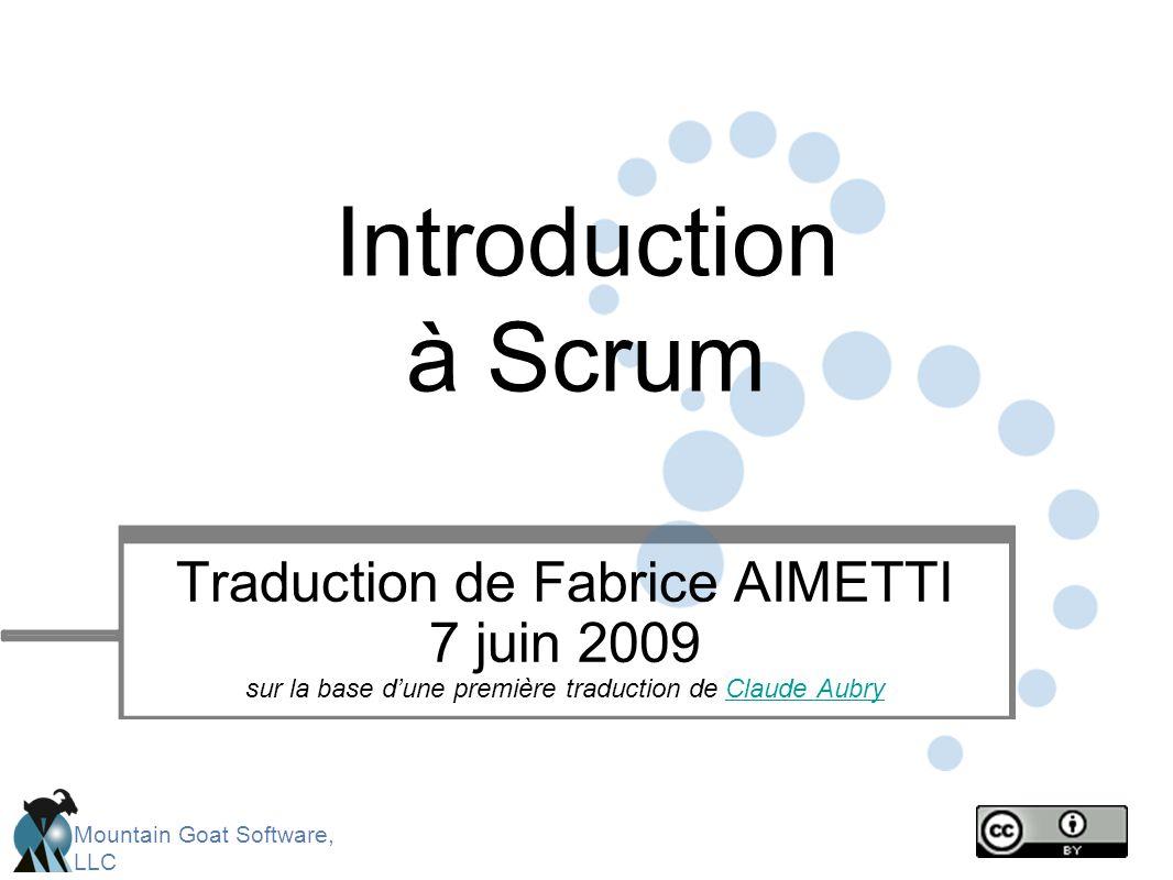 Introduction à Scrum Traduction de Fabrice AIMETTI
