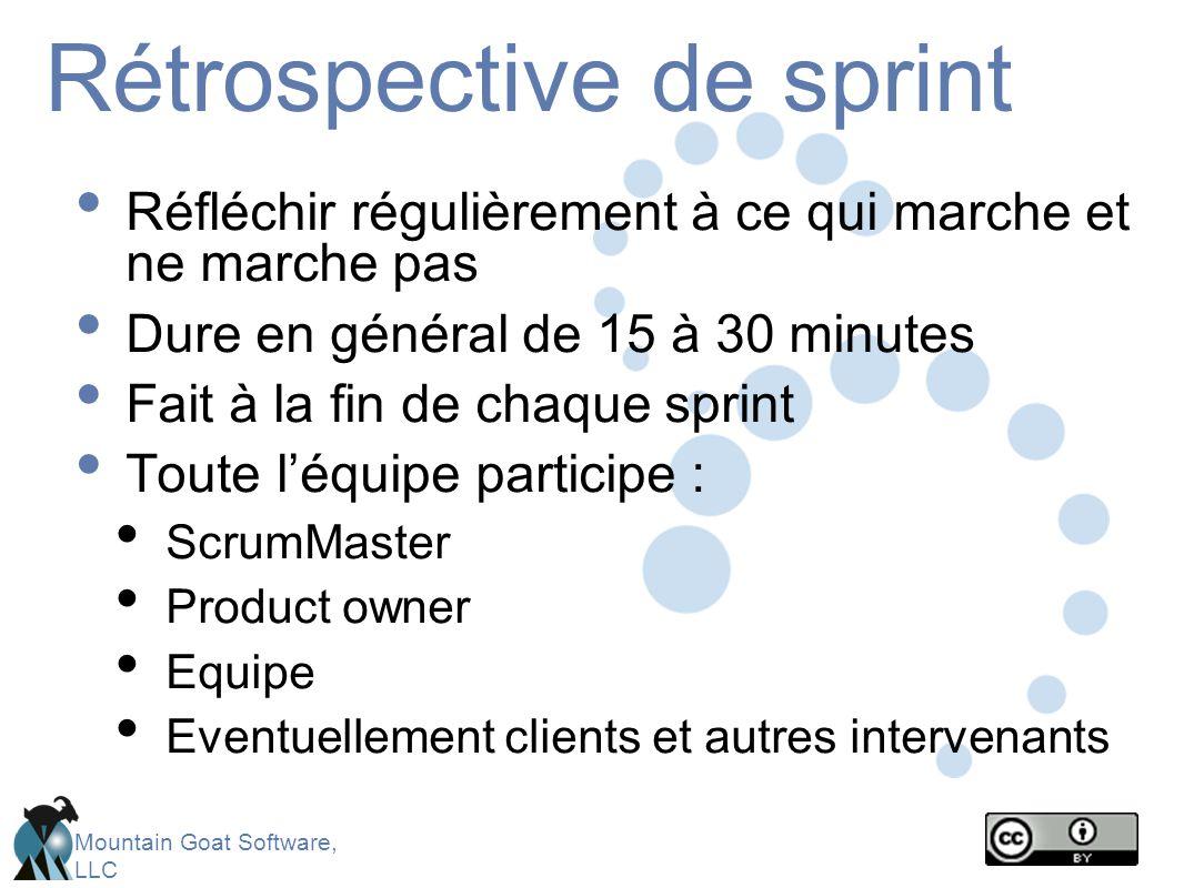 Rétrospective de sprint