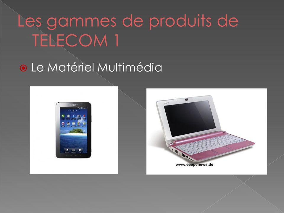 Les gammes de produits de TELECOM 1