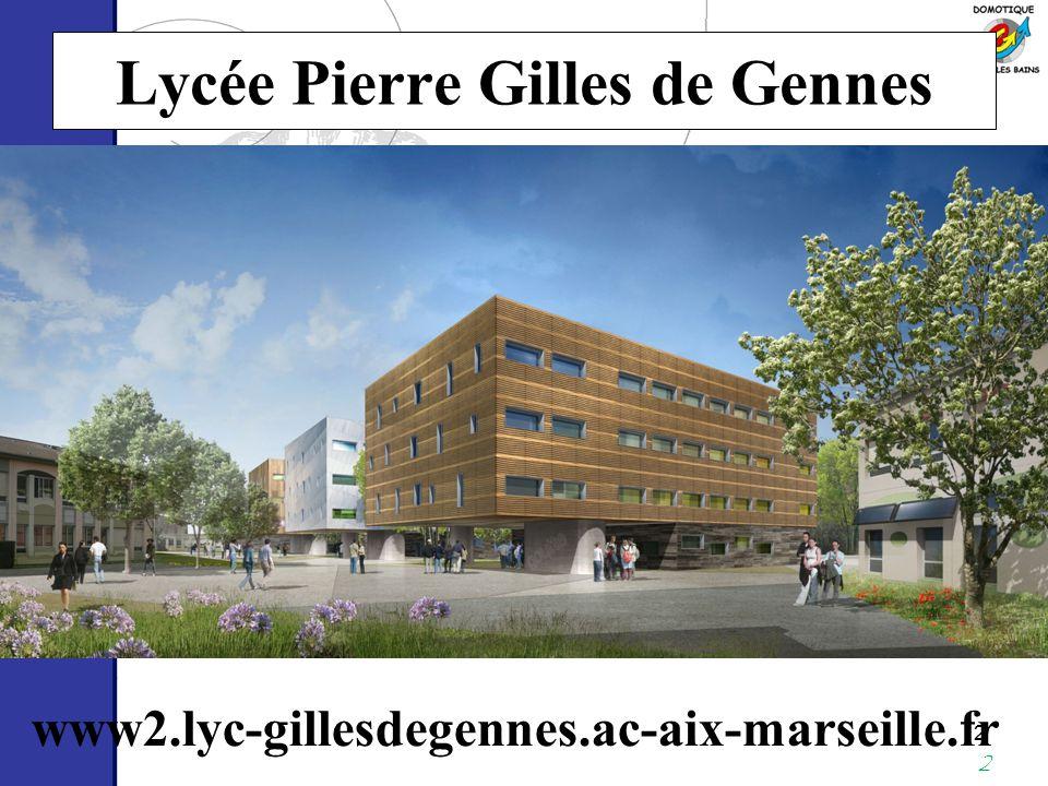 Lycée Pierre Gilles de Gennes