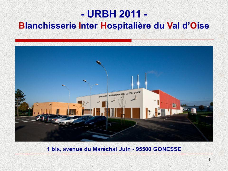 - URBH 2011 - Blanchisserie Inter Hospitalière du Val d'Oise