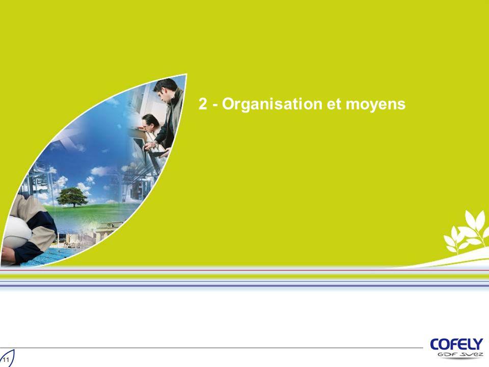 2 - Organisation et moyens