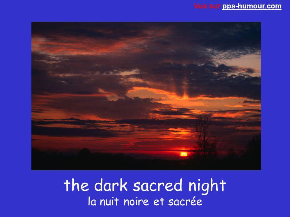 the dark sacred night la nuit noire et sacrée