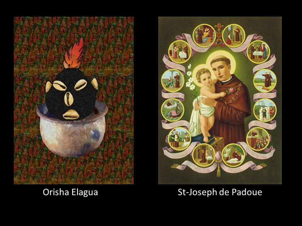 Orisha Elagua St-Joseph de Padoue