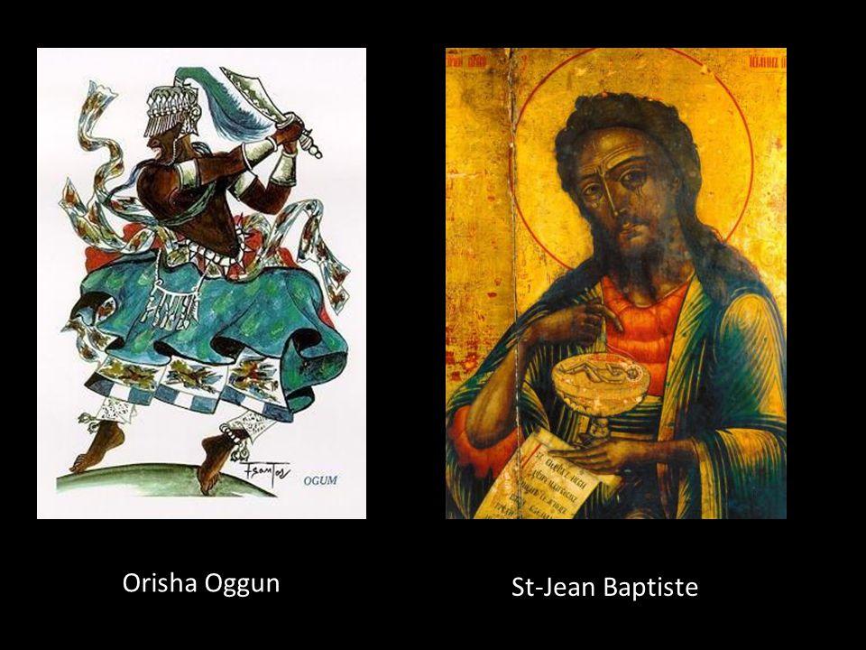 Orisha Oggun St-Jean Baptiste