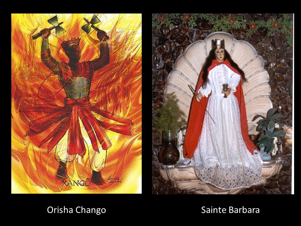 Orisha Chango Sainte Barbara