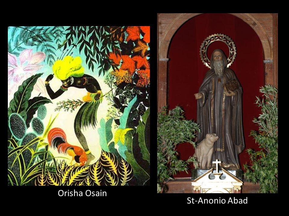 Orisha Osain St-Anonio Abad