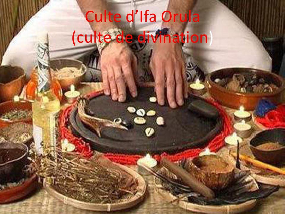 Culte d'Ifa Orula (culte de divination)